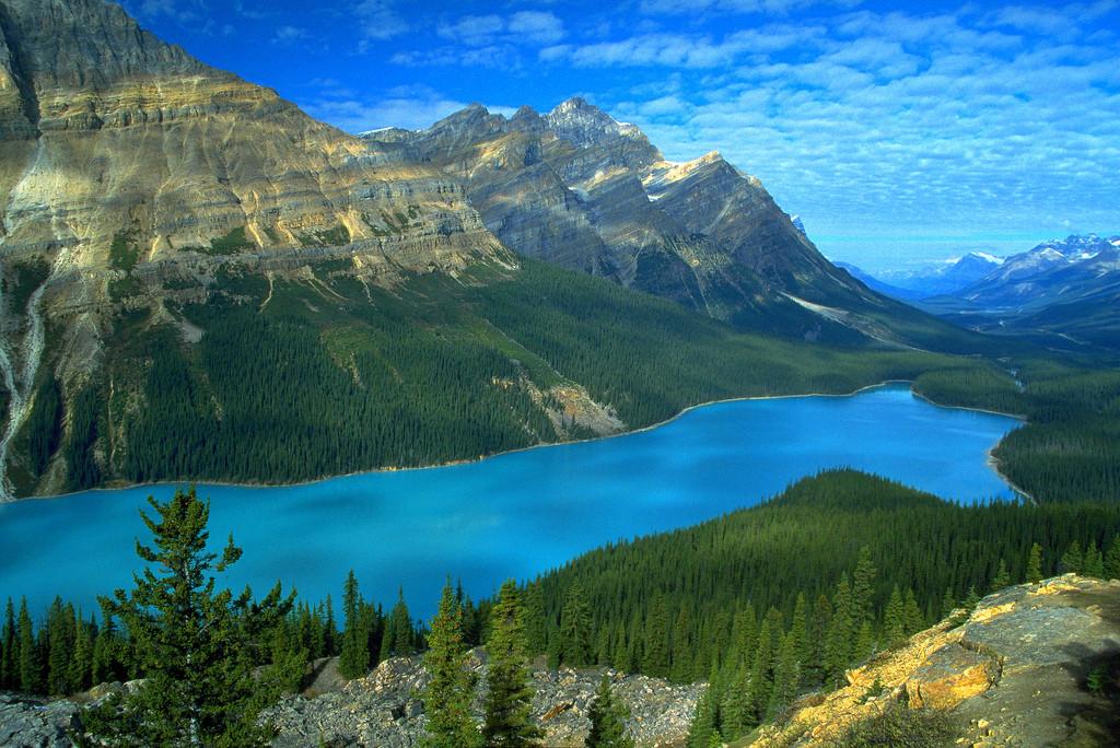 El río Yukón en Canadá