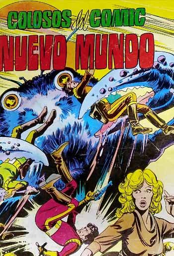 Portada colosos del cómic Nuevo mundo