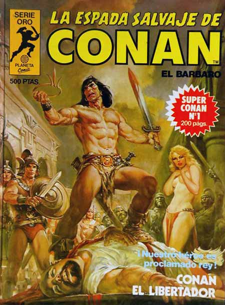 Cómic Super Conan