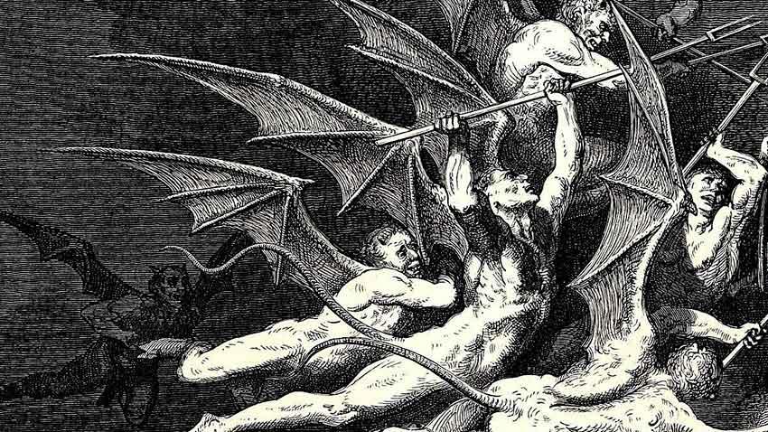 Demonios. Relato de terror