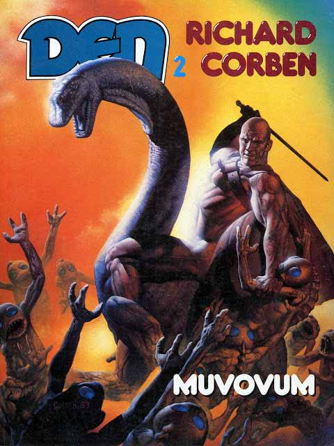 Cómic Den, de Richard Corben