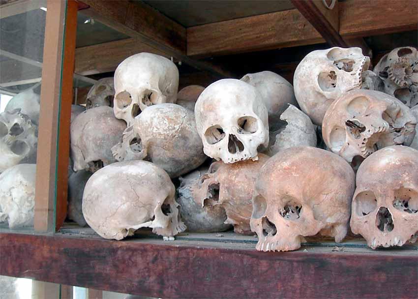 Genocidio de los jemeres rojos en Camboya
