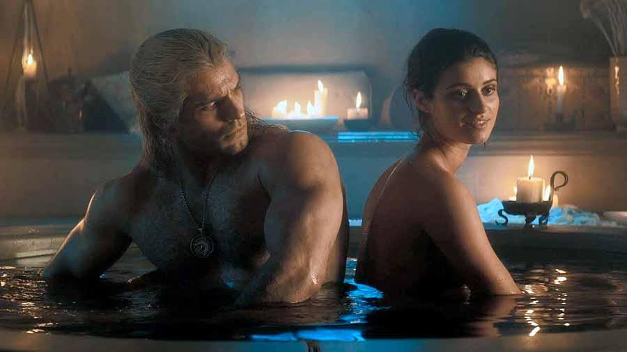 Yennefer y Geralt de Rivia