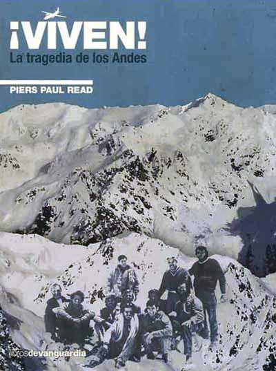 Portada del libro Viven, tragedia en los Andes