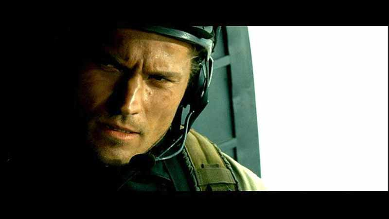 Fotograma de la película Black Hawk Down, de Ridley Scott