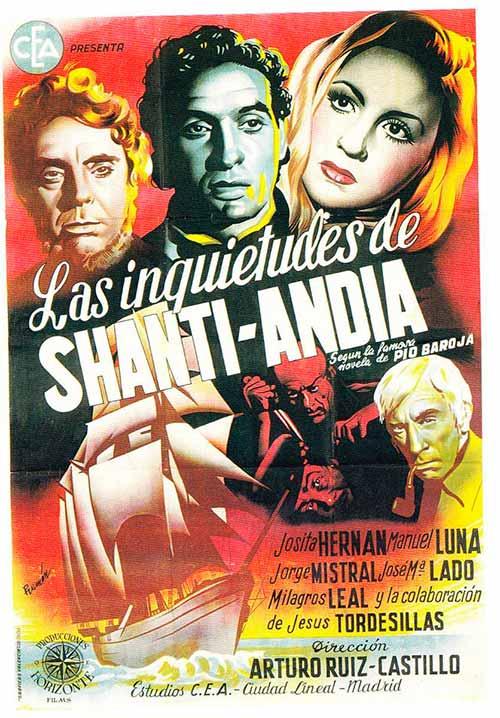 Película Las inquietudes de Shanti Andía