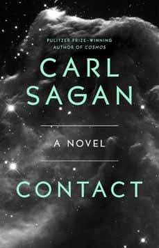 Portada de la novela Contacto, de Carl Sagan