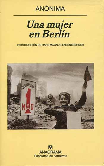 Portada de la novela Una mujer en Berlín